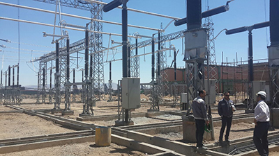 Electrification of 400 kV Mobarakeh Steel Substation will be on schedule