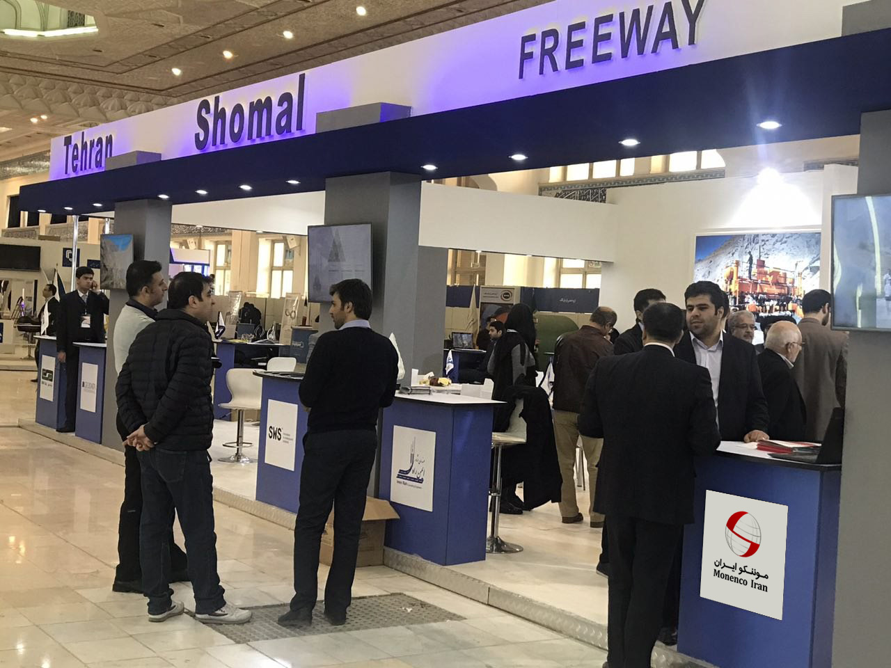 Monenco Iran participated in the 2nd Transport, Road Construction, Road Maintenance and Related Industries Exhibition
