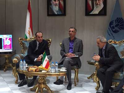 Tajikistan Minster of Energy Considered Monenco Iran, CASA 1000 Consultant, as a Pioneer in Penetrating in Tajikistan Market